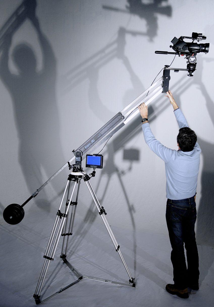 Mini Jib pour caméra Lourde (jusqu'à 20 kg)