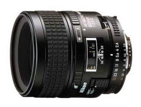 Objectif Nikon micro 60 mm F/2,8