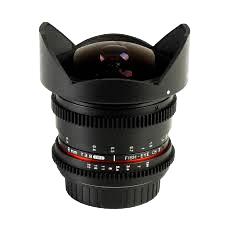 Objectif Samyang 8mm Fisheye Cine lens F/3,8