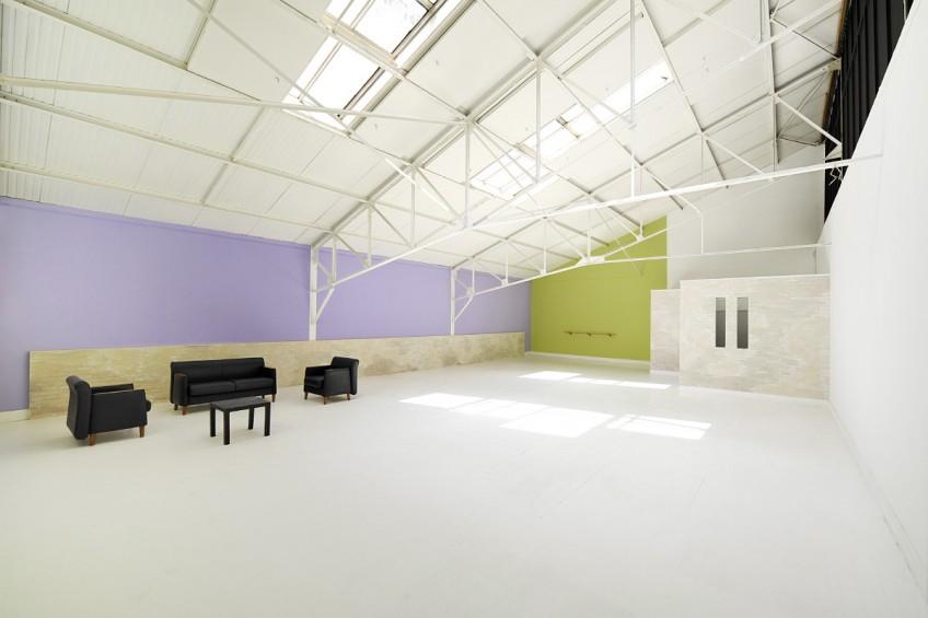 Studio 7 : 170m2, lumière du jour