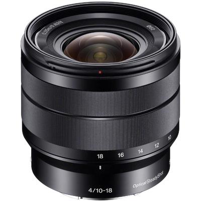 Sony E Zoom 10-18mm F/4 Stabilisé